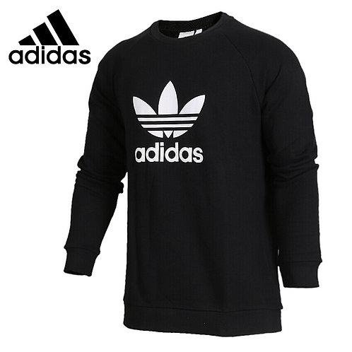 Adidas Originals TREFOIL CREW  Men's Pullover Jerseys Sportswear
