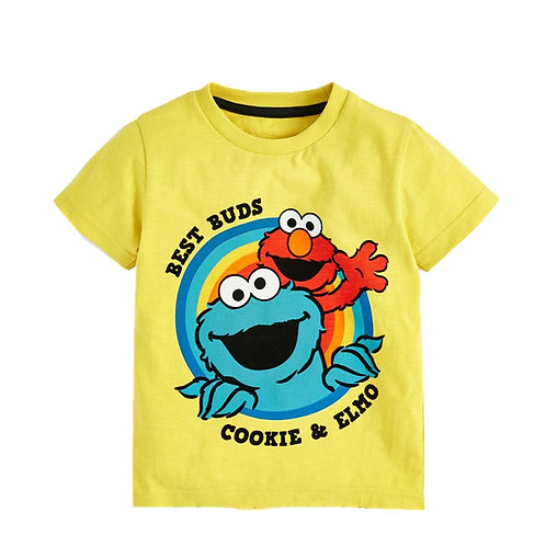 Boys Tees Tops Summer Cartoon Cotton Boys T Shirt