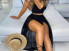 Ladies Sexy Two Piece Summer Outfit available in different sizes and colors