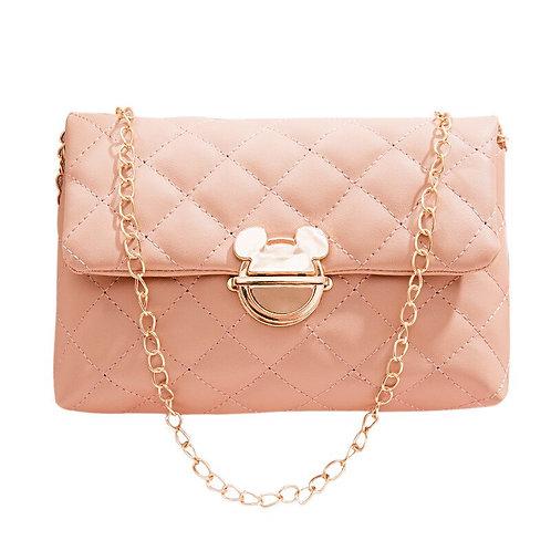 Disney Cartoon Chain Clamshell Bag Wild Single Shoulder Messenger  Bag