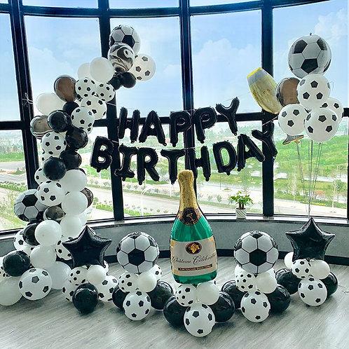 Arch Balloon Garland Theme Party Latex Foil Ballon Boy Birthday Games  Event