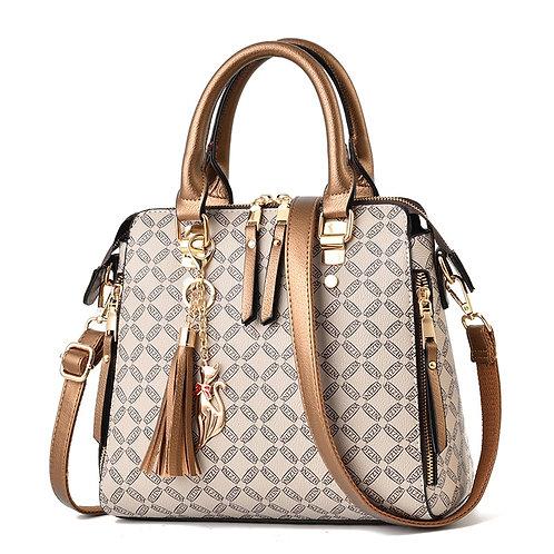 Bagfor Women Ladies Handbags Luxury Leather Handbag Crossbody Bag \