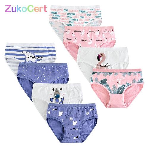 4pcs/Lot Cotton Kid Underwear Panties for Girls