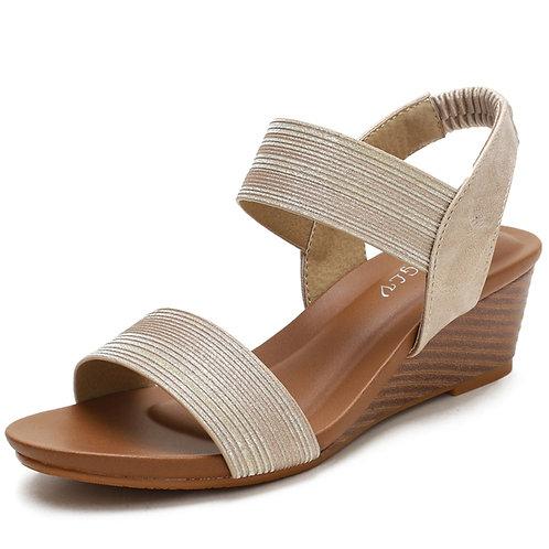 2021 Heels Wedges Sandals for Women Sandals Summer Shoes Chaussures Femme