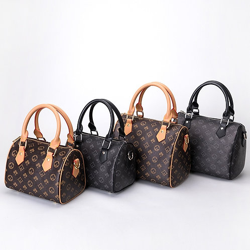 Boston Handbags,Leather Handbag Totes,Crossbody Bag,Vintage Floral