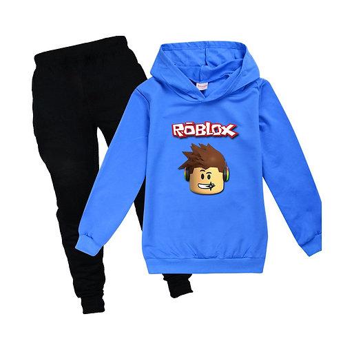 Boys  Sport Suit ROBLOX Pure Cotton Hoodie+Pants