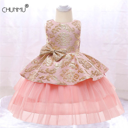 Dress Baby Girls Christening Cake Dresses for Party Occasion dress
