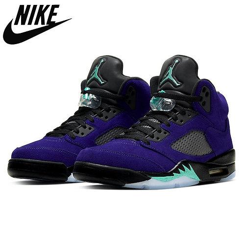 Air Jordan 5 Basketball Shoes Neon What the AJ 5,,