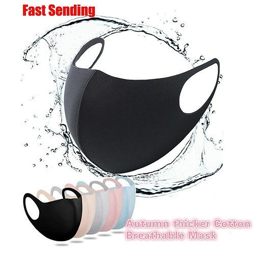 Mouth Mask for Man Woman Washable Reusable Anti Dust Windproof Mouth-Muffle Mask