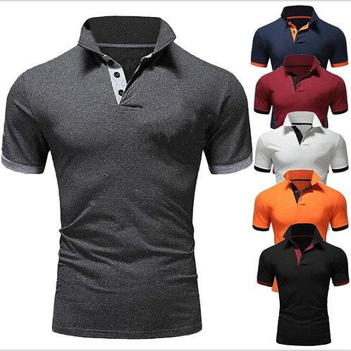 2020 T-Shirt Men Cotton T Shirt Short Sleeve Tshirt Men Solid Color T-Shirts