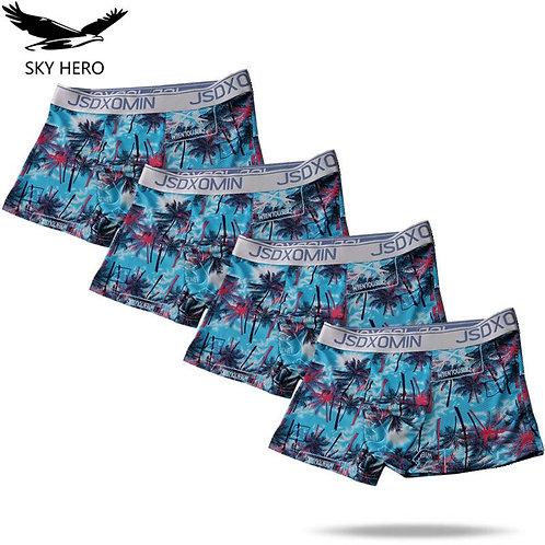 4pack/Lot Underpants Men Boxer Homme Sexy Boxershort Mens Underwear Boxers