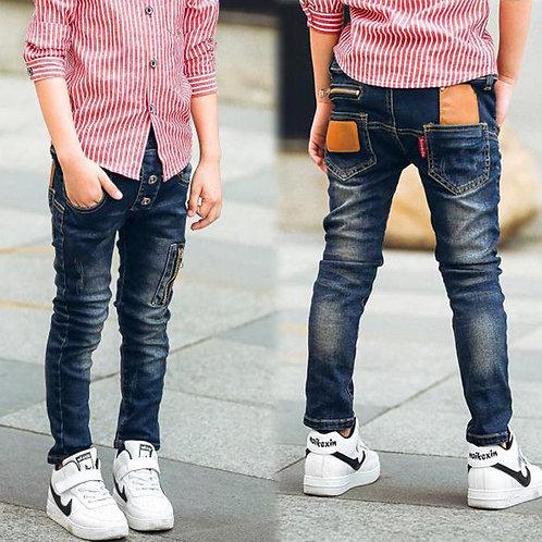 Boys Jeans Kids Stylish Fashion Trousers Pencil Pants Roupas Infantis Menina