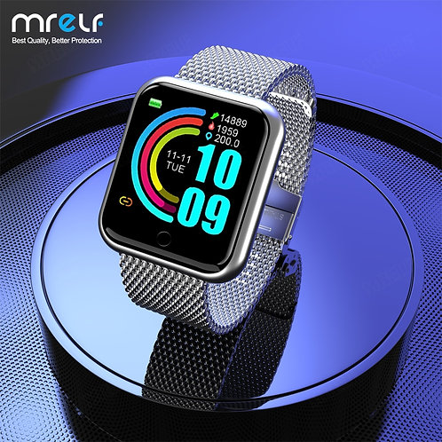 2020 Smart Watch Man Smartwatch Bluetooth Blood Heart Rate Monitor  Fitness