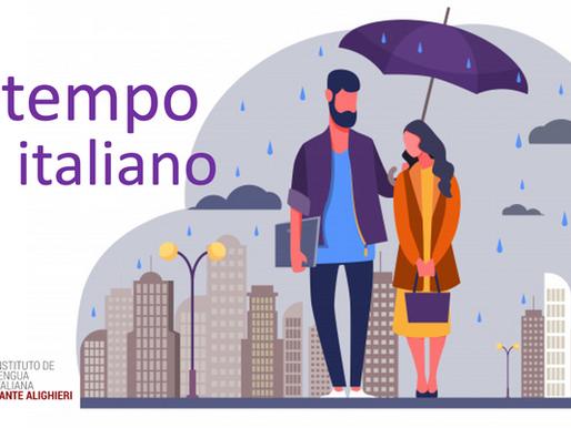 Vocabulario del Tiempo en italiano