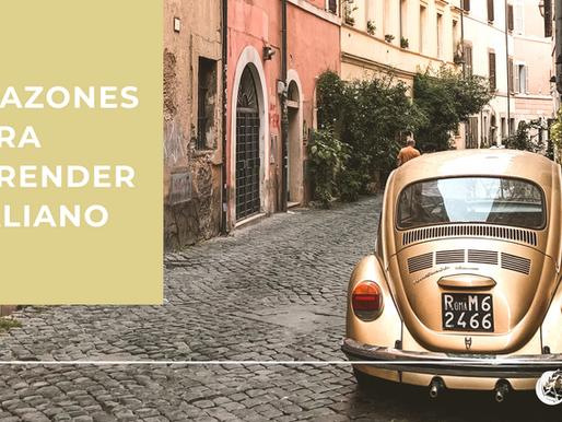 Razones para aprender italiano este 2021