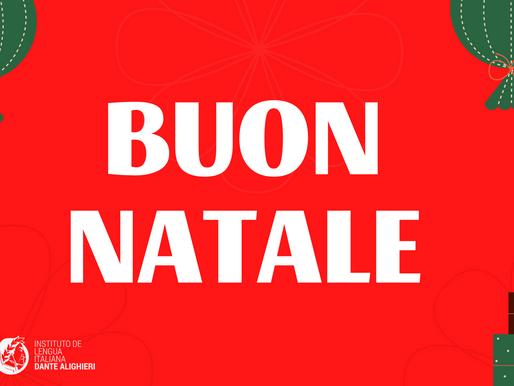 Vocabulario de Navidad en Italiano