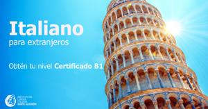 certificado B1 italiano_ instituto Dante alighieri Tegucigalpa Managua