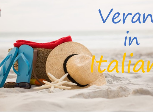 Vocabulario italiano: La Playa