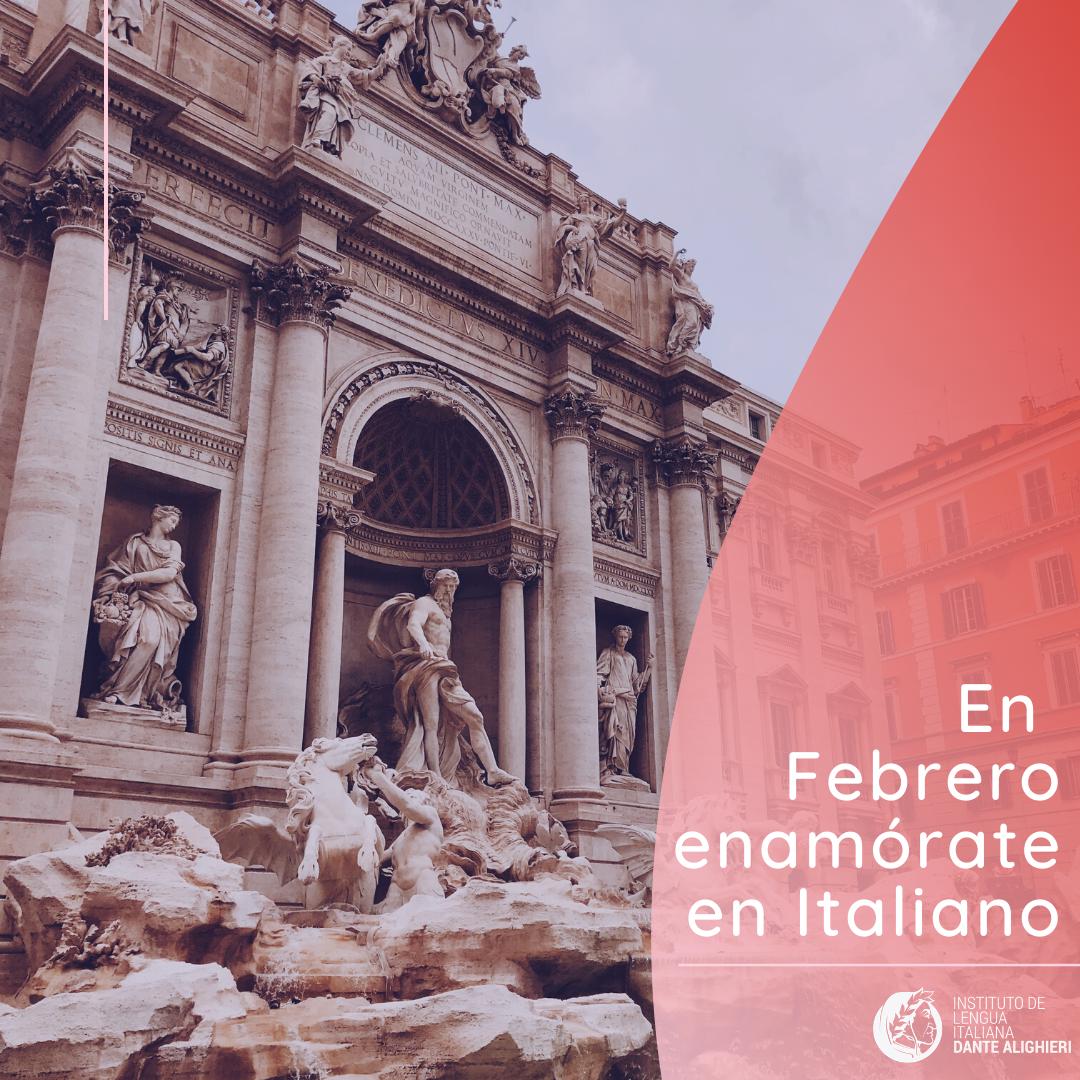 En febrero enamorate en Italiano