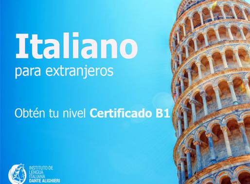 ¿Para qué me sirve el Nivel B1 de italiano y cómo lo obtengo?