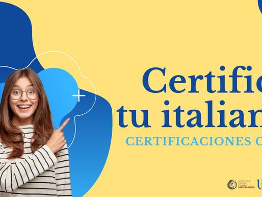 Certifica tu italiano con los exámenes de certificación CILS