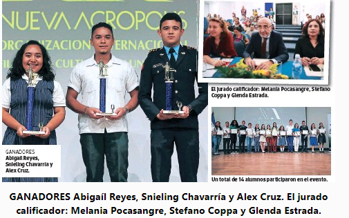 Concurso de oratoria: Quijotes para Honduras 2019