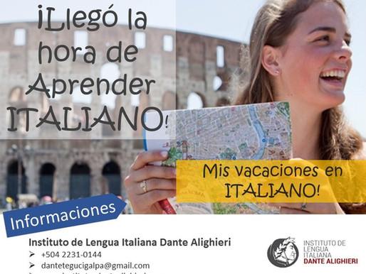 Curso Vacacional de Italiano