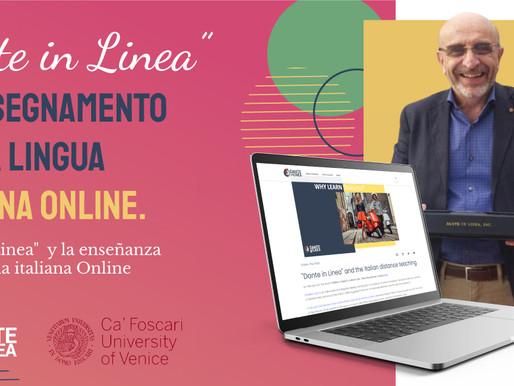 """""""Dante in Linea"""" y la enseñanza de la lengua italiana Online"""