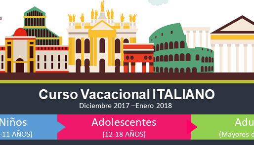 ¡Diviértete aprendiendo italiano estas vacaciones de fin de año!