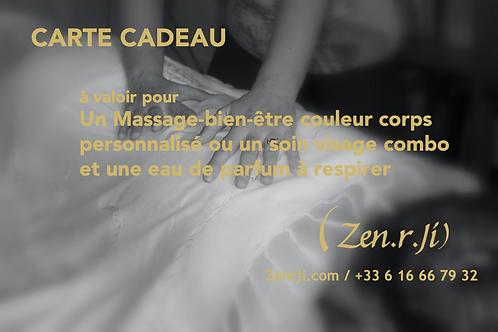 Carte Cadeau Massage + Eau de Parfum - 101 euros