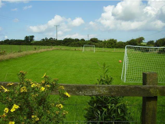 Football pitch Trenewydd