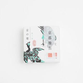 京都雅缶 京の雉 濃抹茶