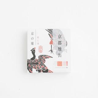 京都雅缶 京の雉 焙じ茶