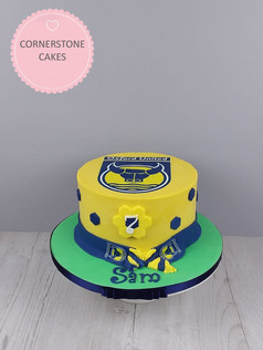 Football Supporters Cake