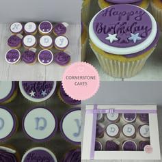 Personalised Celebration Cupcakes
