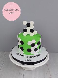 Footbal Supporter's Cake
