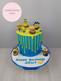 Character Inspired Drip Cake