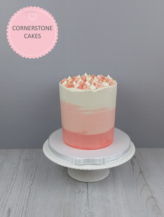 """Tall 6"""" Ombre Cake"""