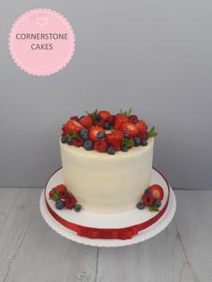 Summer Fruits Cake