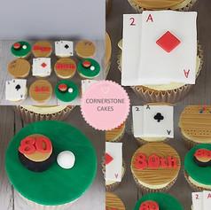 Games Night Cupcakes