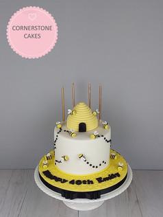 Happy Beeday Cake