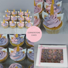 Unicorn Cupcakes - Pink/Purple