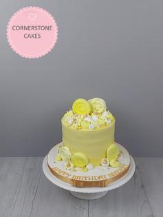 Watercolour Meringue Cake