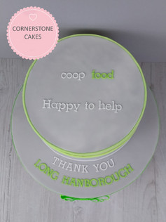 Corporate Thank-you Cake