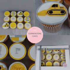 Personalised #1Daddy Cupcakes