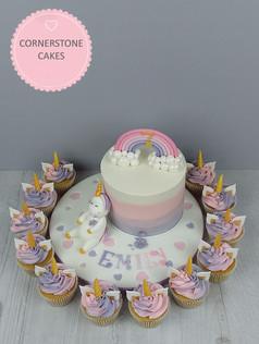 Greedy Unicorn & Cupcakes