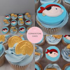 Pirates & Treasure Cupcakes!