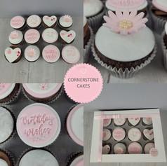 Mum's Birthday Cupcakes