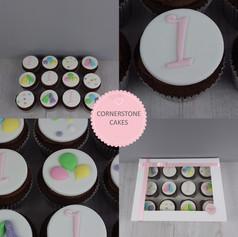 Co-ordinating Celebration Cupcakes