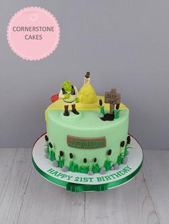 Character Inspired Duo Cake